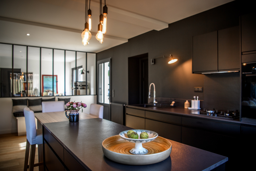 Artitude Architecte d'intérieur à Arcachon et Bordeaux Cuisine style atelier