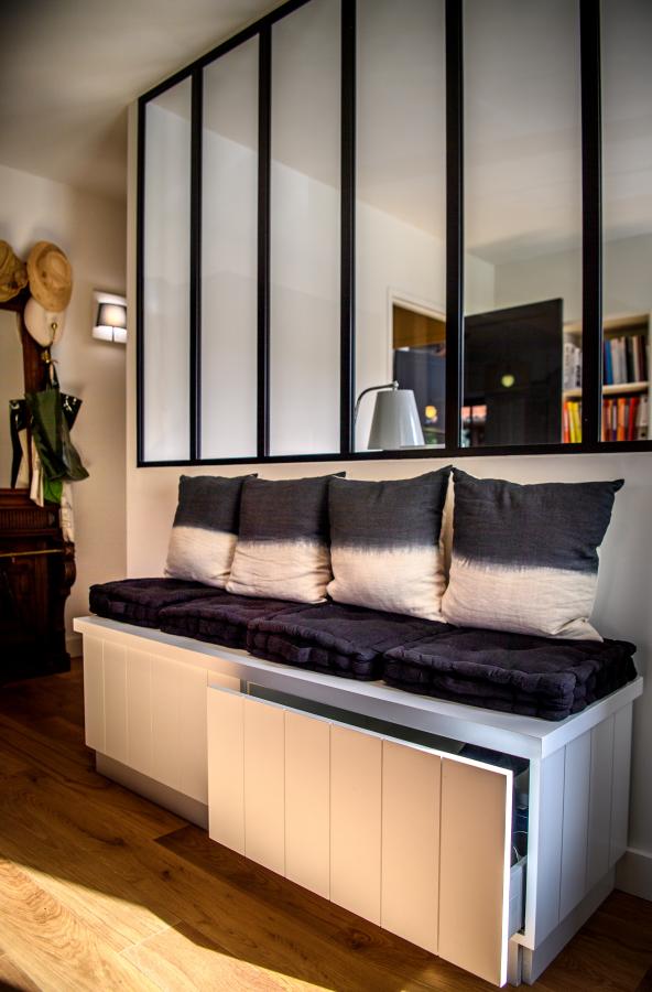 verrière design Artitude Architecte d'intérieur à Arcachon et Bordeaux