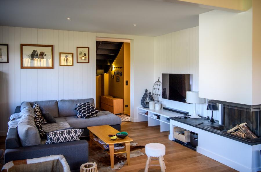 salon détente cosy Artitude Architecte d'intérieur à Arcachon et Bordeaux
