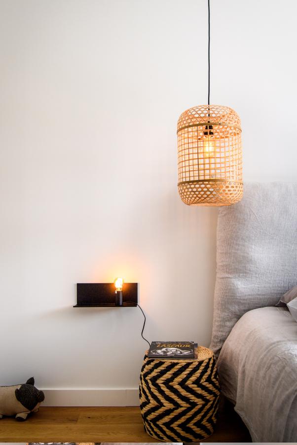 Artitude Architecte d'intérieur à Arcachon et Bordeaux chambre avec tendance osier