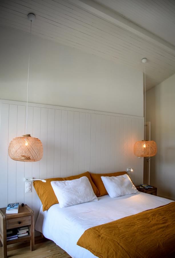 Artitude Architecte d'intérieur à Arcachon et Bordeaux chambre et tête de lit