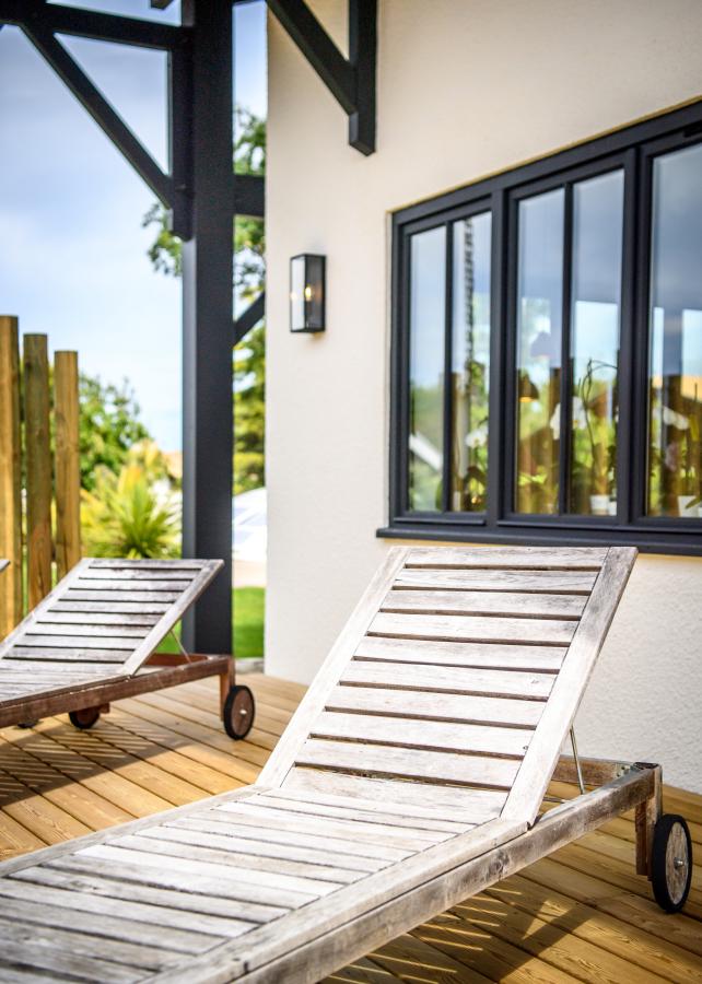 chaise longue calme Artitude Architecte d'intérieur à Arcachon et Bordeaux