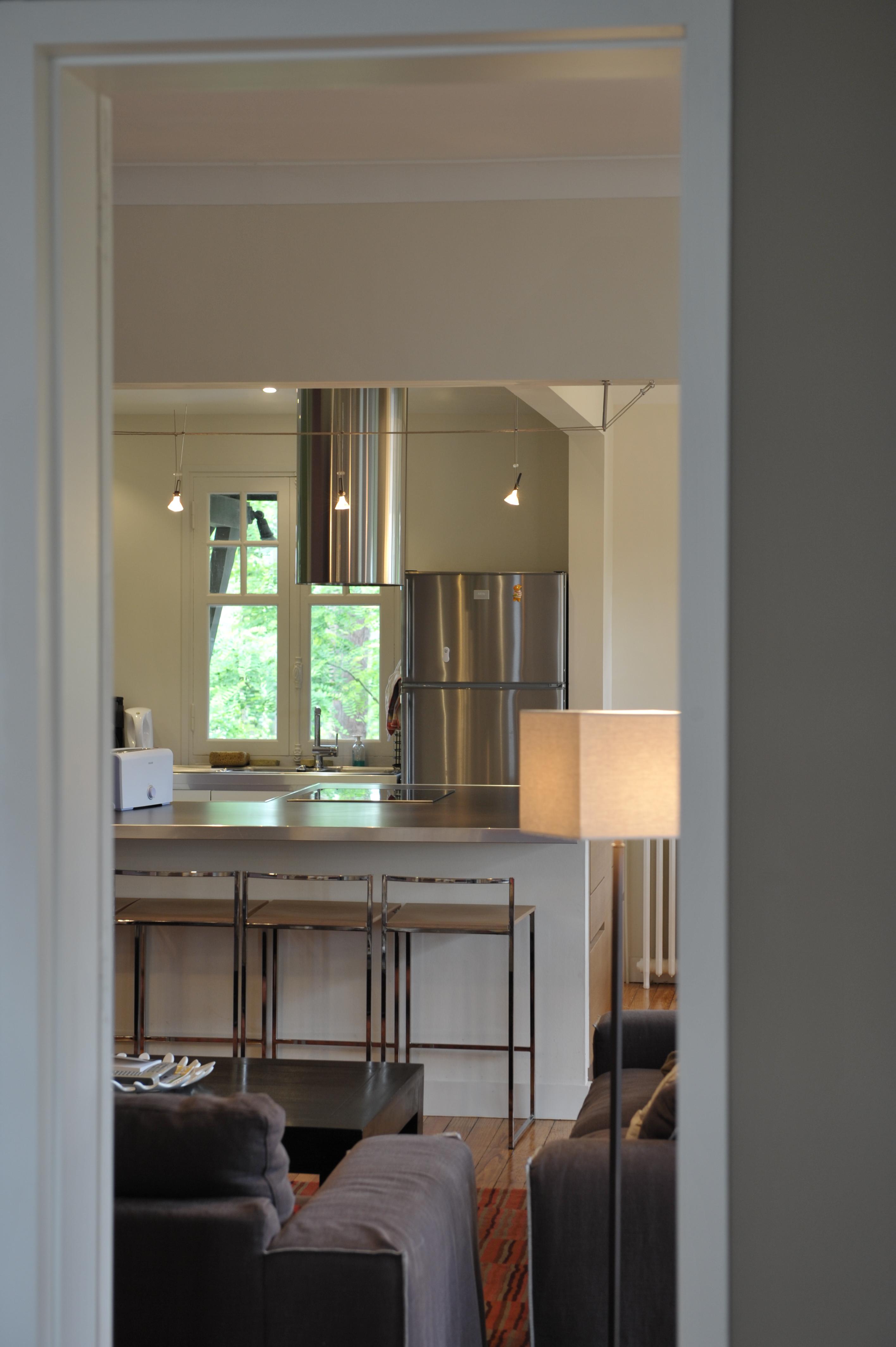 Artitude Architecte d'intérieur à Arcachon et Bordeaux Cuisine Inox