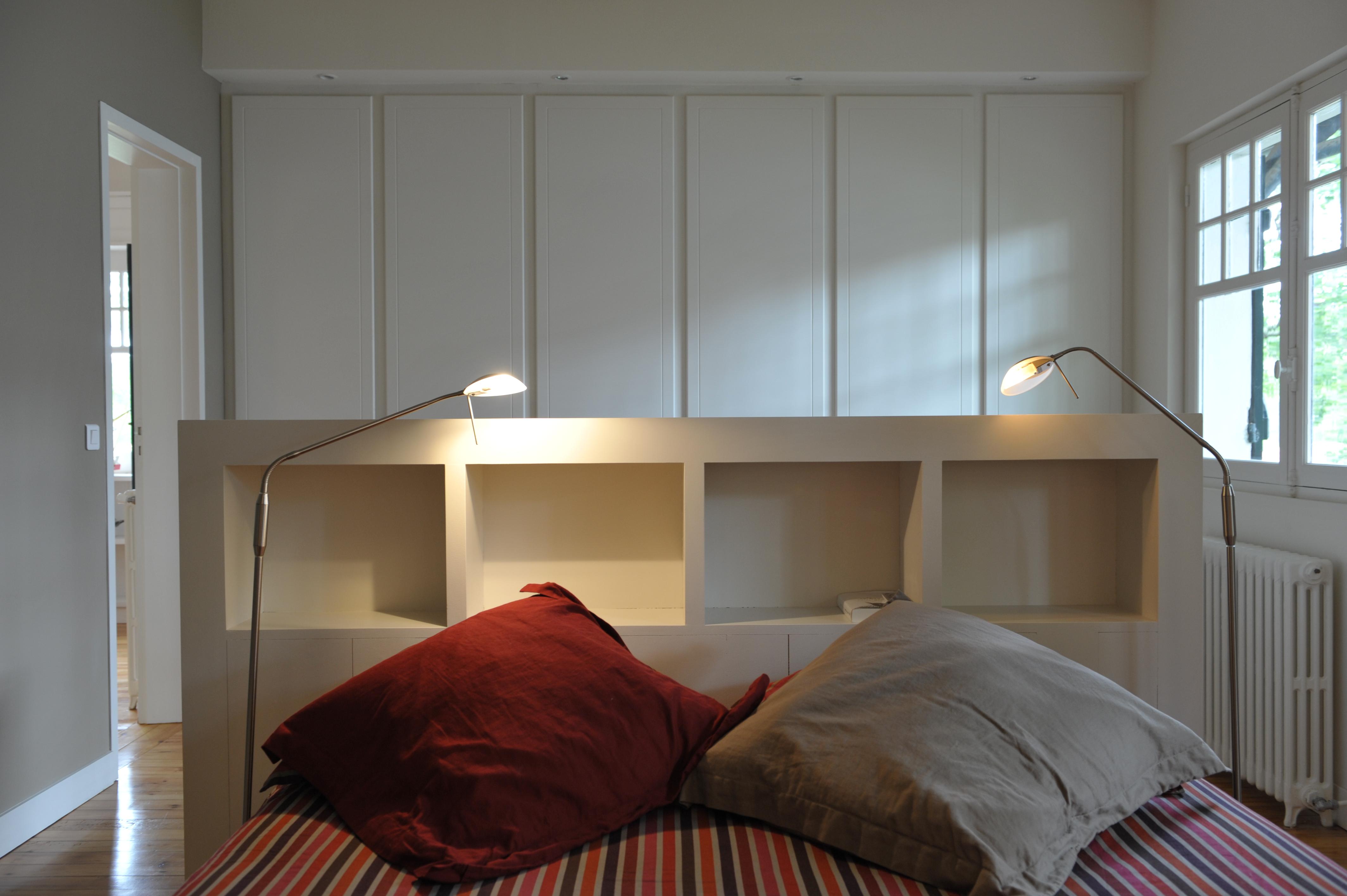 Artitude Architecte d'intérieur à Arcachon et Bordeaux dressing dans chambre