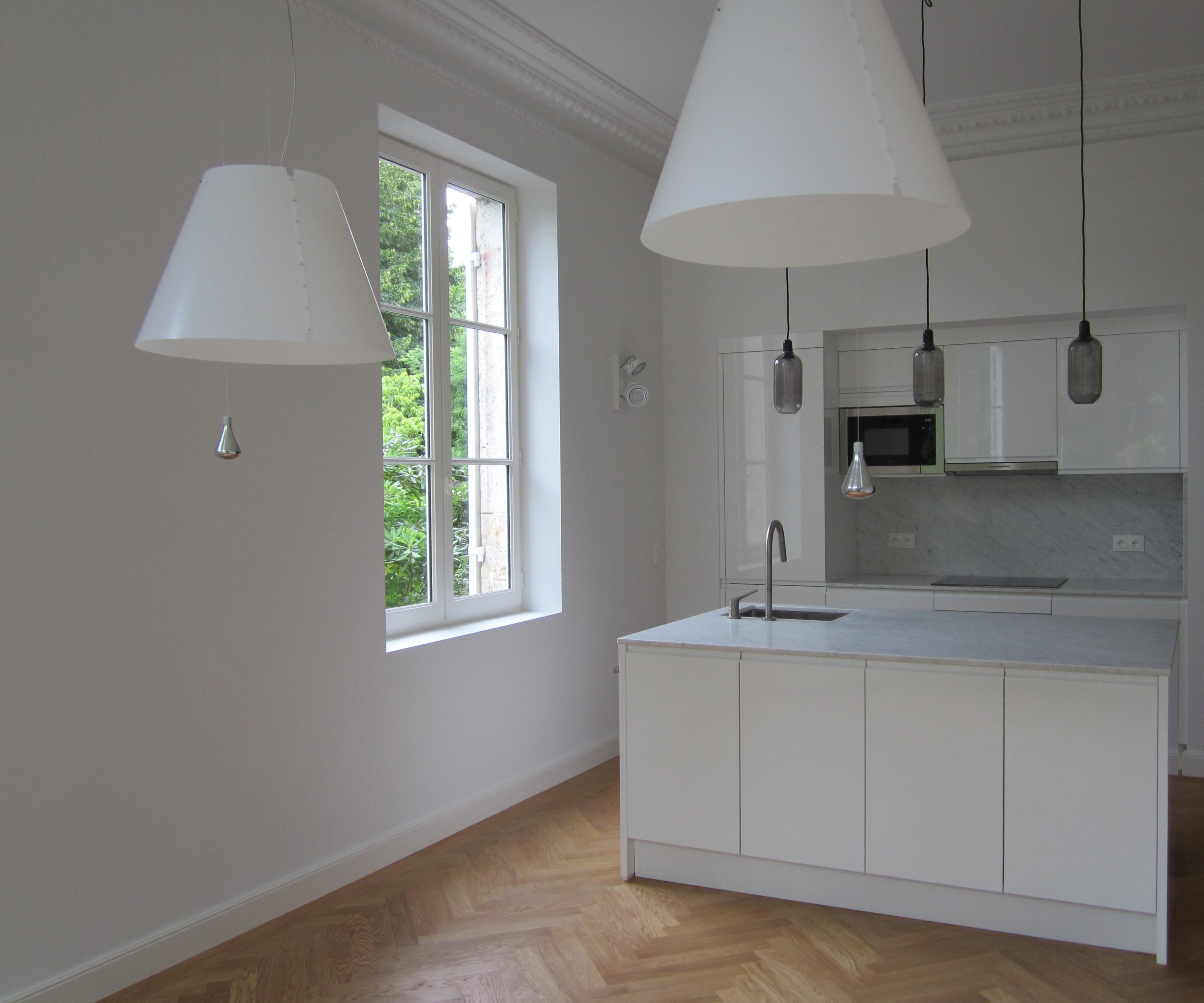 Artitude Architecte d'intérieur à Arcachon et Bordeaux cuisine épurée