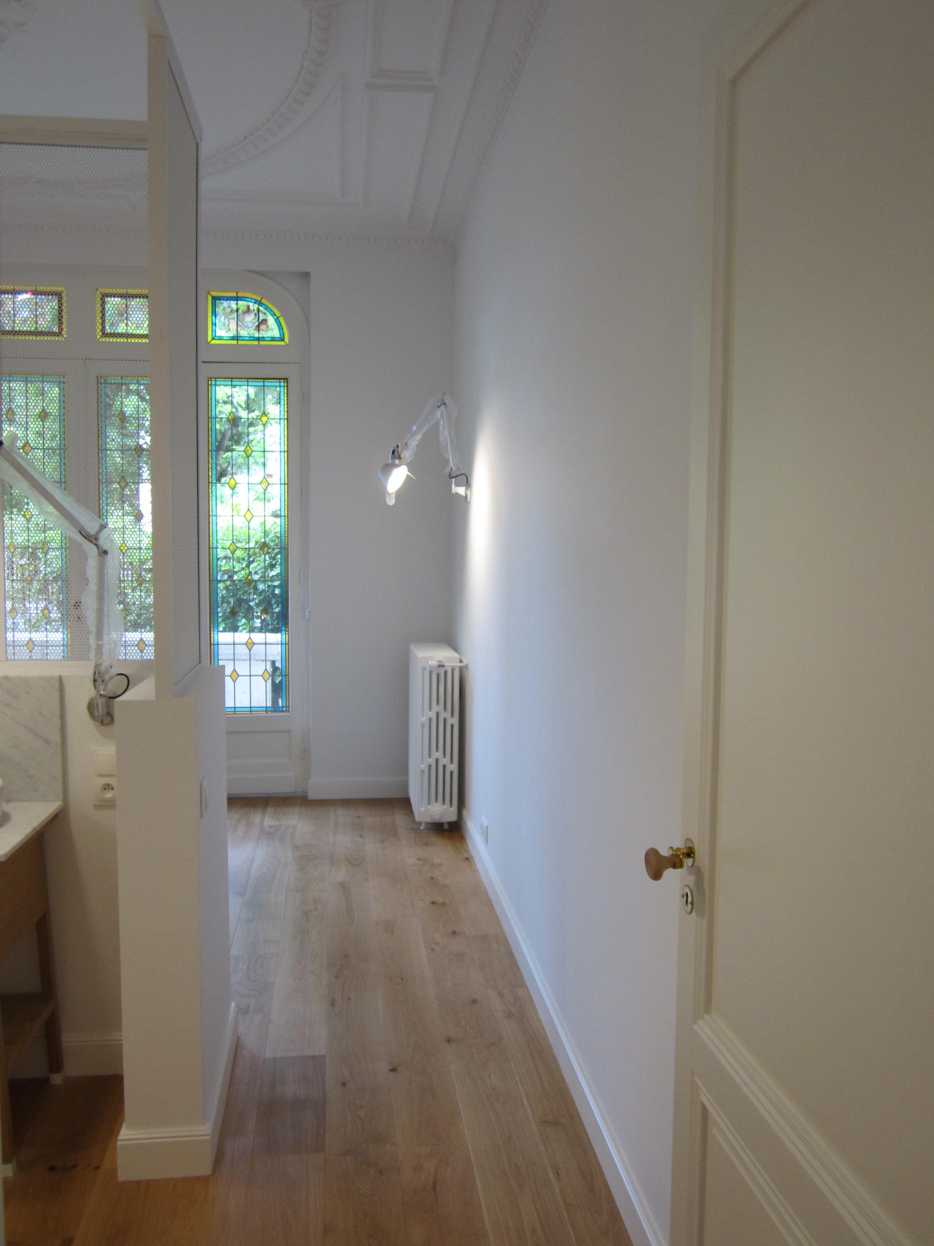 Artitude Architecte d'intérieur à Arcachon et Bordeaux Moulures dans couloir en bois